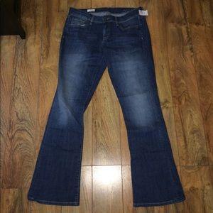Gap 1969 skinny boot jeans, NWT